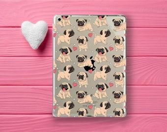 iPad 4 case, pugs case, iPad 3 case, iPad 2 case, iPad case, iPad mini 4, pugs ipad case, iPad mini 3 case, iPad Air case, iPad Air 2 case