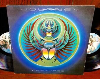 Journey Captured Vintage Vinyl Double Album
