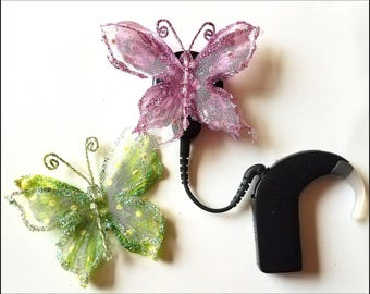 Cochlear Cuties:  Magnificent Butterflies!  Available in 4 Great Colors!