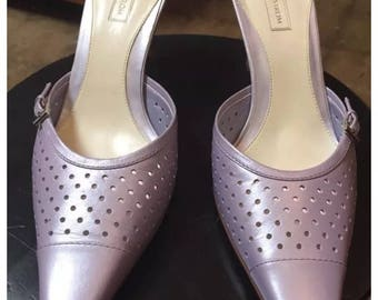 Purple leather Nordstrom Pumps size 10M