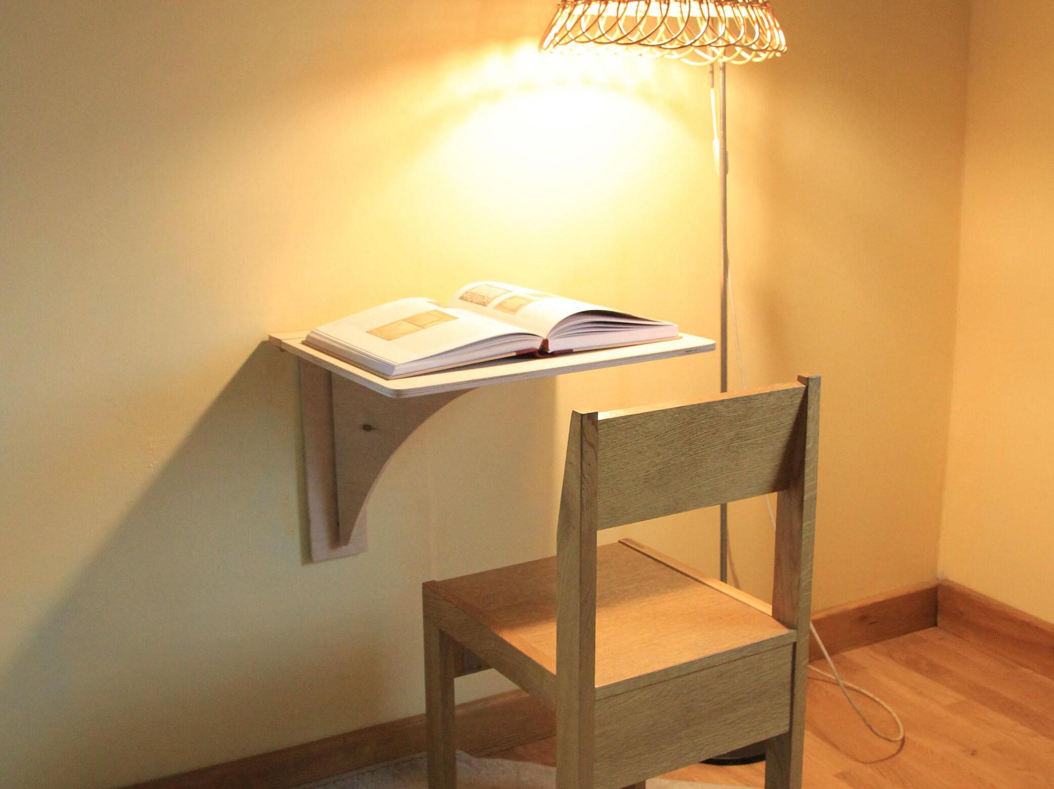 Wand montiert Schreibtisch Plywoof Möbel