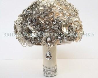 Bridal bouquet crystal