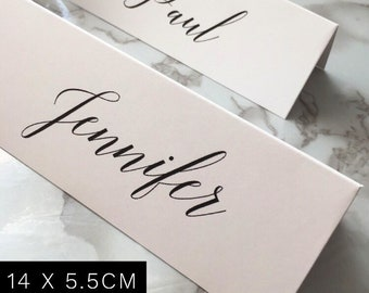 Name Place Cards for Wedding Tables, Table Name Cards