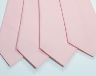 Blush Neckties Blush Wedding Neckties Mens Neckties Weddings Light Pink Neckties