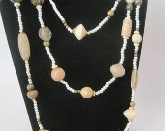 """60"""" Beaded Necklace"""