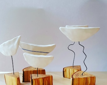 Boat, porcelein