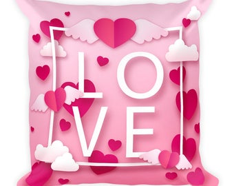 In Love Square Pillow