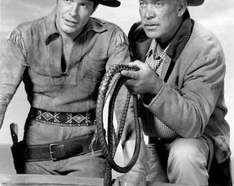 Robert Horton and Ward Bond from Wagon Train .