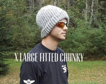 Chunky Basic Fitted Beanie
