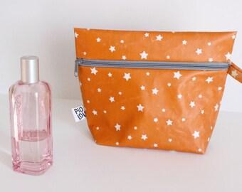 Toilet bag PM orange stars