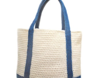 Classic Tote Bag - PDF Crochet Pattern - Instant Download