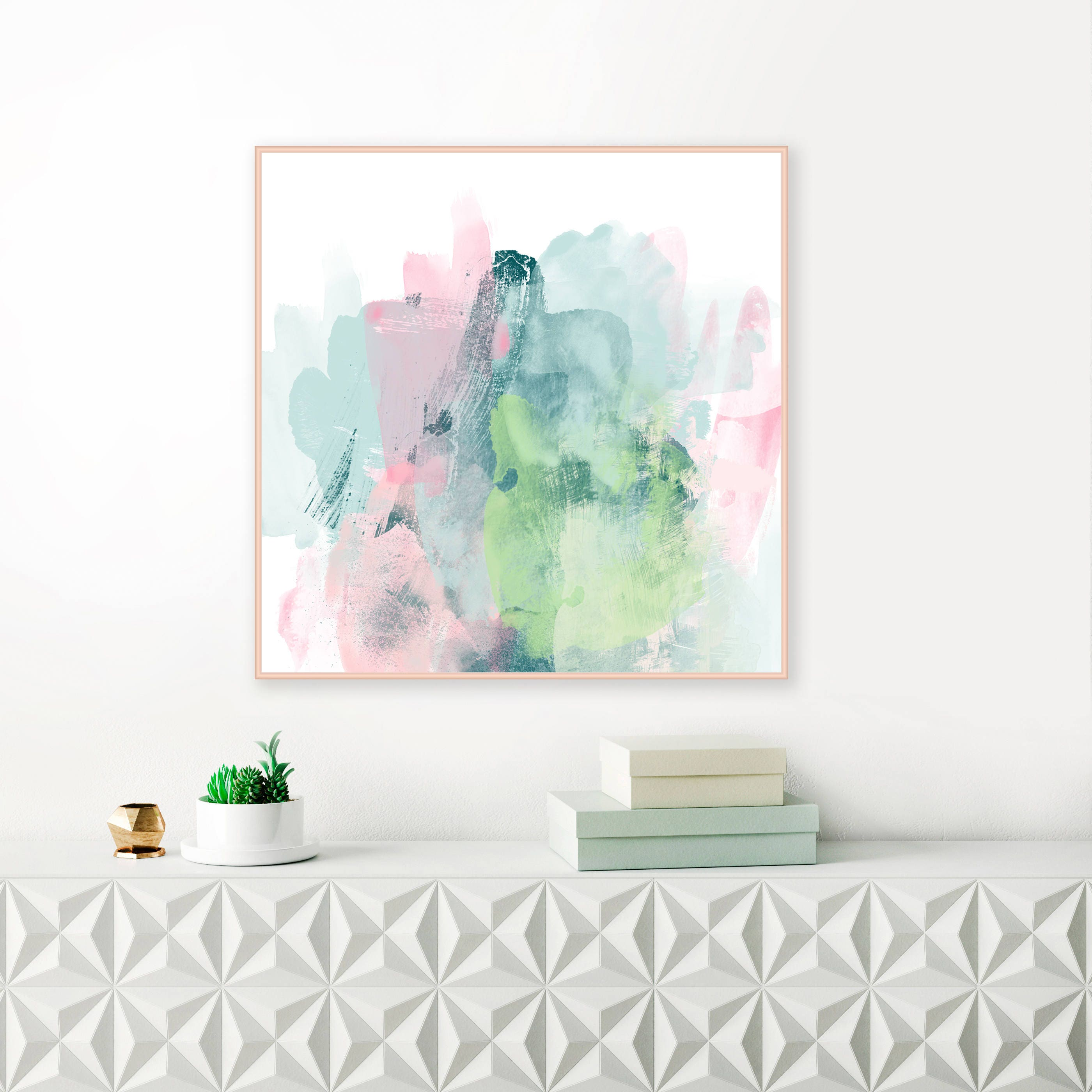 Printable Abstract Art, Nursery Painting, Printable Modern Art ...