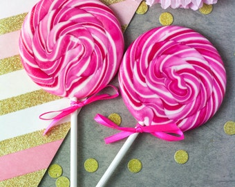 Boozy Raspberry Prosecco Lollipop - Prosecco Gift - Wine - Boozy - Bridesmaid Gift - Foodie Gift - Mother's Day Gift - Alcoholic Lollipop