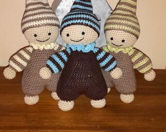 Elf blanket crochet - Amigurumi