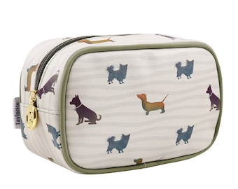 TaylorHe Make-up Bag Cosmetic Case Toiletry Bag Pencil Case Zipped Top A Dogs Life.