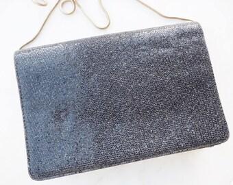 Vintage Jane Shilton sparkly black bag