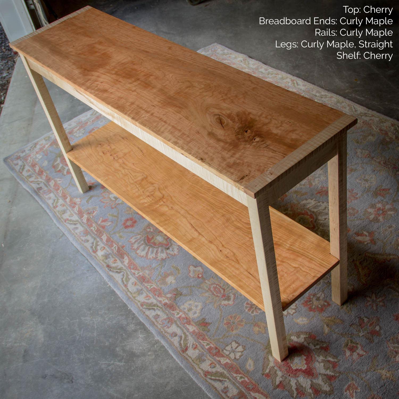 🔎zoom shaker hall table
