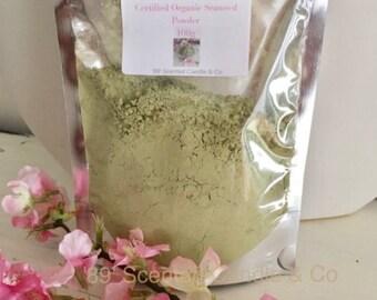 Organic Seaweed Powder Ultra Fine for Face Mask Ascophyllum Nodosum Powder Kelp