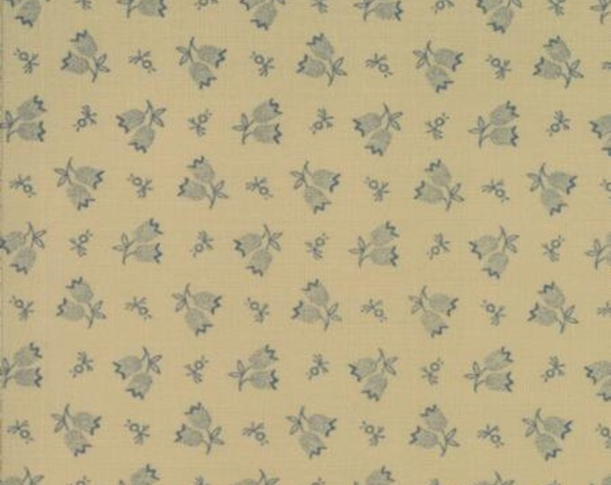 Hope Chest Linen Blue - 1/2yd