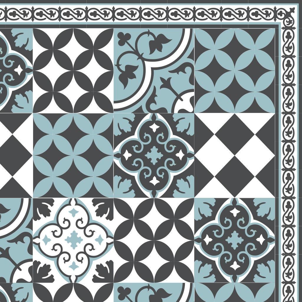 kostenloser versand fliesen muster dekorative pvc vinyl matte. Black Bedroom Furniture Sets. Home Design Ideas