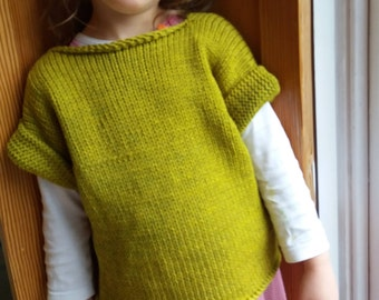 100% Organic Wool Jumper for kids. Size 3/4 year olds