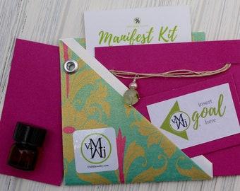 Amagorite Necklace Manifest Kit