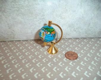 1:12 scale dollhouse miniature World globe