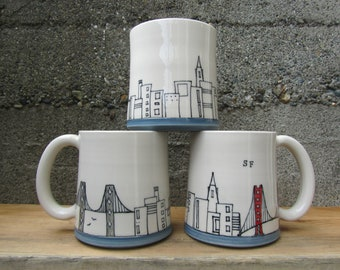 MADE TO ORDER ~ San Francisco Mug