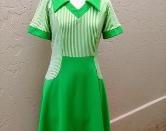 1960's Groovy Green