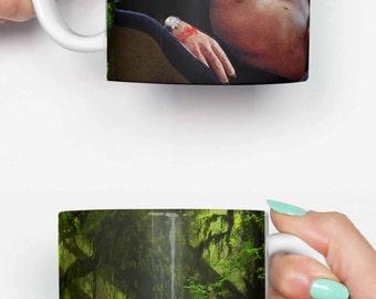 Ian Malcolm Jeff Goldblum topless - funny mug, gifts for him, meme mug, unique mug, office mug, christmas mug, gifts for her 4M236