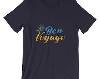bon voyage - bon voyage party - bon voyage gift - bon voyage invite - bon voyage decor - bon voyage shirt - bon voyage tshirt - travel