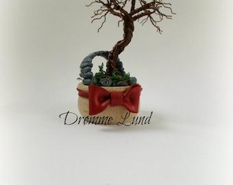 Tree In A Pot (Decorative OOAK  Tree Sculpture)