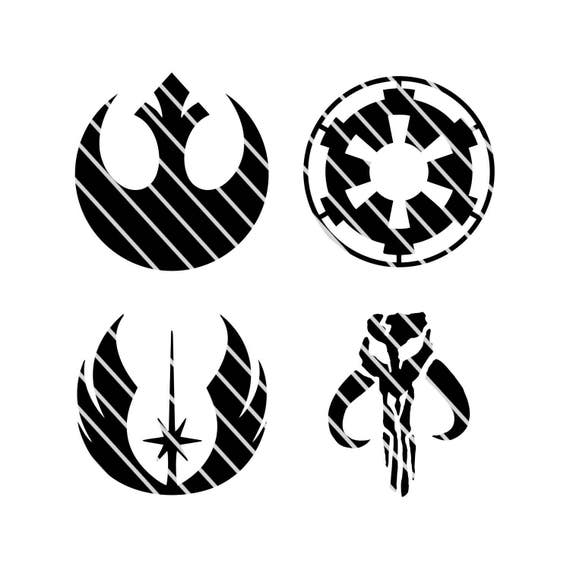 Boba Fett Symbol Stencil 41034 Movieweb