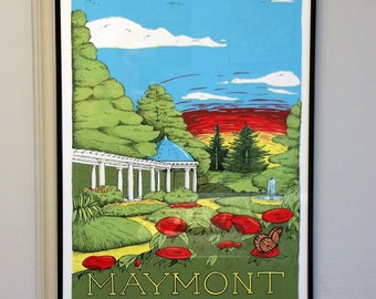 Maymont - Limited Edition Screen Print