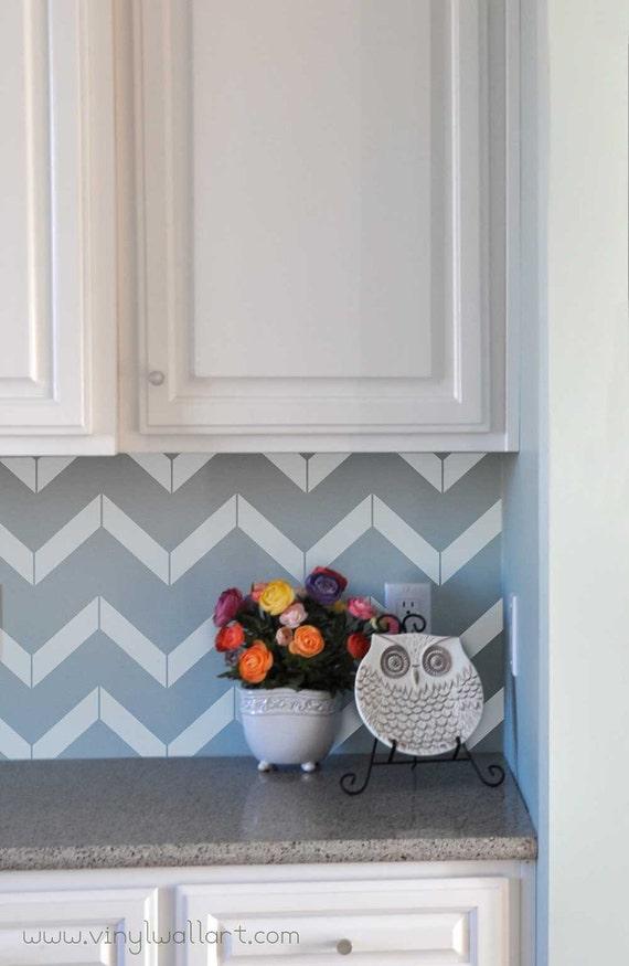 Chevron Vinyl Wall Decals Size MEDIUM   Artistic Flair, Office Decor, Home  Decor, Bedroom Decal, Nursery Decal