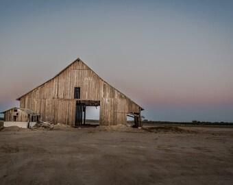 Print, Photography, Fine Art, Photo, canvas, JK Day, Wall Art, barn, brown, rustic, farm, california, country