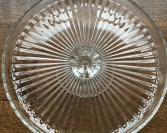 Pretty french glass stand