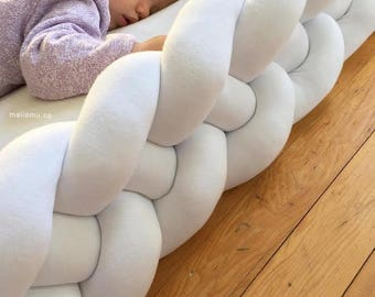 Double Braided Cushion (long) - Designed for Co-Sleeping, Floor Beds ...