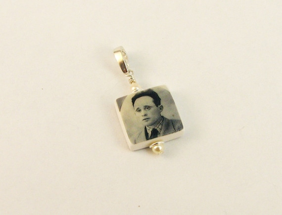 Custom Mini Photo Charm - Add it to any charm bracelet - C4