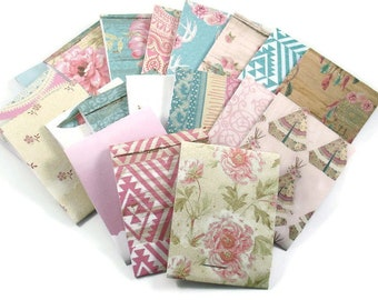 Set of 19 Matchbook Notepads Mini Note Pads in Boho Vibes