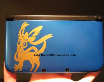 Sylveon decal for 3DS XL