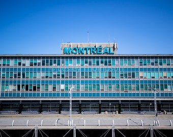 YUL - No Departures - Montréal Trudeau Airport - Montréal - Fine Art Print - Photograph - Wall Art - Decor