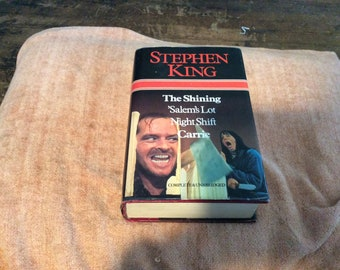 The Shining, Salem's Lot, Night Shift and Carrie complete and unabridged