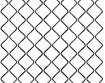 """1"""" Mock Crosshatch Quilting Stencil - EL122"""