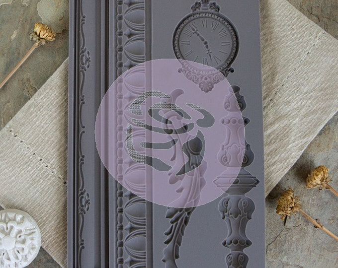 Iron Orchid Designs - Baroque 6 - Moulds