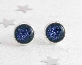 Constellation Studs, Astronomy Jewelry, Star Stud Earrings, North Star, Space Jewelry, Star Map Necklace, Zodiac Studs, Navy Earrings