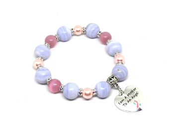 Infant Loss Gifts - Infant Loss Awareness - Miscarriage - Miscarriage Bracelet - Infertility Jewelry - Infertility Bracelet - Infertility