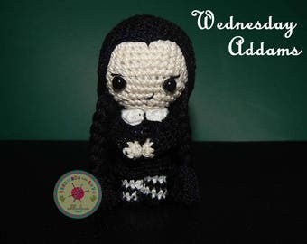 Wednesday Addams Doll - Addams Family Amigurumi