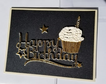 Male Masculine Birthday Card
