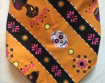 Snoopy Dia de los Muertos (Day of the Dead) print bandana